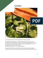 Süßkartoffel Und Brokoli