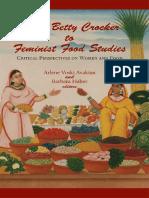 Feminist and Food Studies