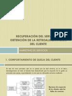 Recuperación del servicio  y obtención de la retroalimentación.pptx