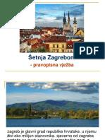 Šetnja Zagrebom - Veliko Slovo