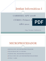 Teoria 3 Microprocesador Memoria Ram Disco Rigido