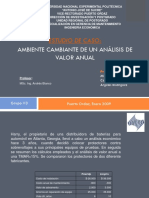 Ambiente Cambiante Analisis Valor Anual Powerpoint