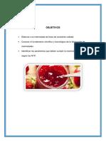 Elaboración de Mermelada de Fresa  TAQ