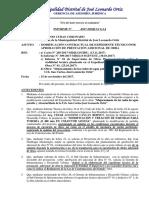 Informe_Obra Mejoramiento de Redes de Agua Potable y Alcantarillado San Carlos