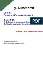 SES 5A. OPERACION DEL EMBRAGUE DE FRICCIION..ppsx