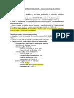 Tutorial MOODLE - Criação de Grupos e Entrega de Relatório