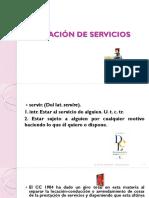 Locación de Servicios - Contrato de Obra