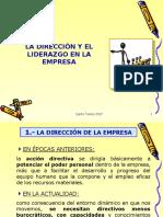Direccion y Liderazgo Ppt Reyes