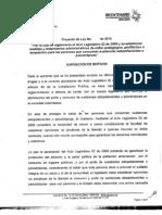 2029_proyecto de Acto Legislativo Porte y Consumo Radicado