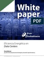 EficienciaEnergeticaDataCenter Whitepaper 4 0