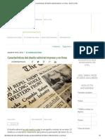 Características Del Diseño Editorial Impreso y en Línea - BLOG _ UTEL