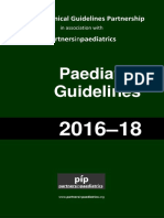 Clinical Guidelines in Pediatrics