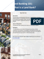What is a Land Bank? Dan Kildee, Co-Founder and President  Amy Hovey, Co-Founder and Senior Vice-President  Center for Community ProgressLand Banking Basics