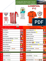 Premier League 171129 omgång 14 Stoke City - Liverpool 0-3