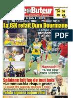 LE BUTEUR PDF du 30/08/2010