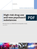 High Risk Drug Use and New Psychoactive Substances