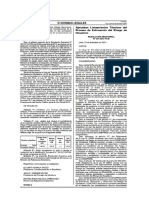 RM 334 2012 PCM Estimacion de Riesgo