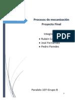 proyecto mecanizacion