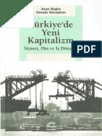 Ayşe Buğra Türkiyede Yeni Kapitalizm İletişim Yayınları