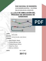 Modelo de Simulación Del Proceso de Envasado de Gaseosas