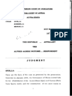 Court of Appeal Judgement