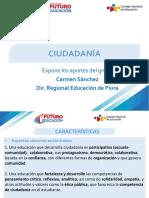 Conclusiones taller ciudadanía del Seminario Futuro Educación