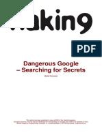Michał Piotrowski Dangerous Google Searching (1)