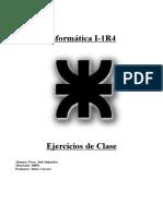 Trabajo Practico ejercicios de Clave Informatica 1 UTN