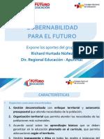 Conclusiones sobre gobernabilidad para el futuro - Seminario Futuro Educación