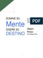 Domine Su Mente Diseñe Su Destino _ Adam Khoo