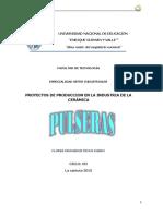 Proyecto Pulseras