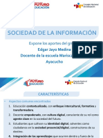 Conclusiones sobre sociedad de la información - Seminario Taller Futuro Educación
