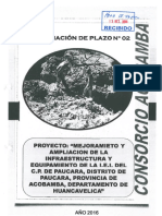 Ampliac. Plazo N° 02-Paucará-Acobamba-Huancavelica-Cons. Acobamba