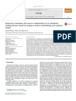 Numerical Simulation and Process Optimization of an Aluminum