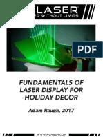 X-Laser Fundamentals of Laser for Holiday Decor 113017