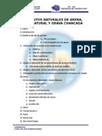 2. Yacimientos Naturales de Arena, Grava y Grava Chancada