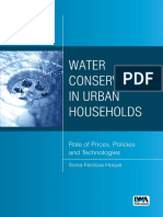 Water Conservation in Urban Hou - Sonia Ferdous Hoque
