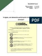 6 Sigma, Une Demarche Perform Ante Et Efficace Pour Les Services [1]