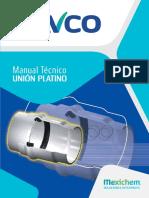 Manual Tuber°a PVC Acueducto - Uni¢n Platino