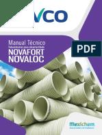 Manual PVC Alcantarillado Novafort - Novaloc