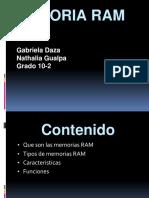 Memoria RAM Expocicion