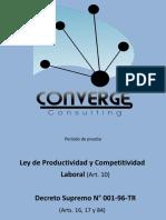 Productividad y Competitividad - Legislación
