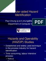 Computer Aided HAZOP