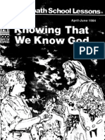 ss19840401 knowing that we know god