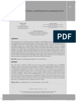FI_ Financial Accounting. an Epistemological Research Note