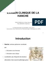 Examen Clinique de La Hanche