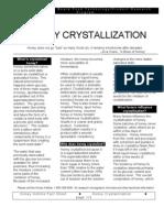 Honey Crystallization