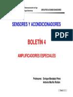 Boletin 4 Amplificadores Especiales