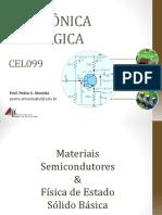 CEL099 – 002 Diodos e Outros Dispositivos de 2 Terminais