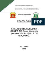 Edafología, Estudio de Suelos.